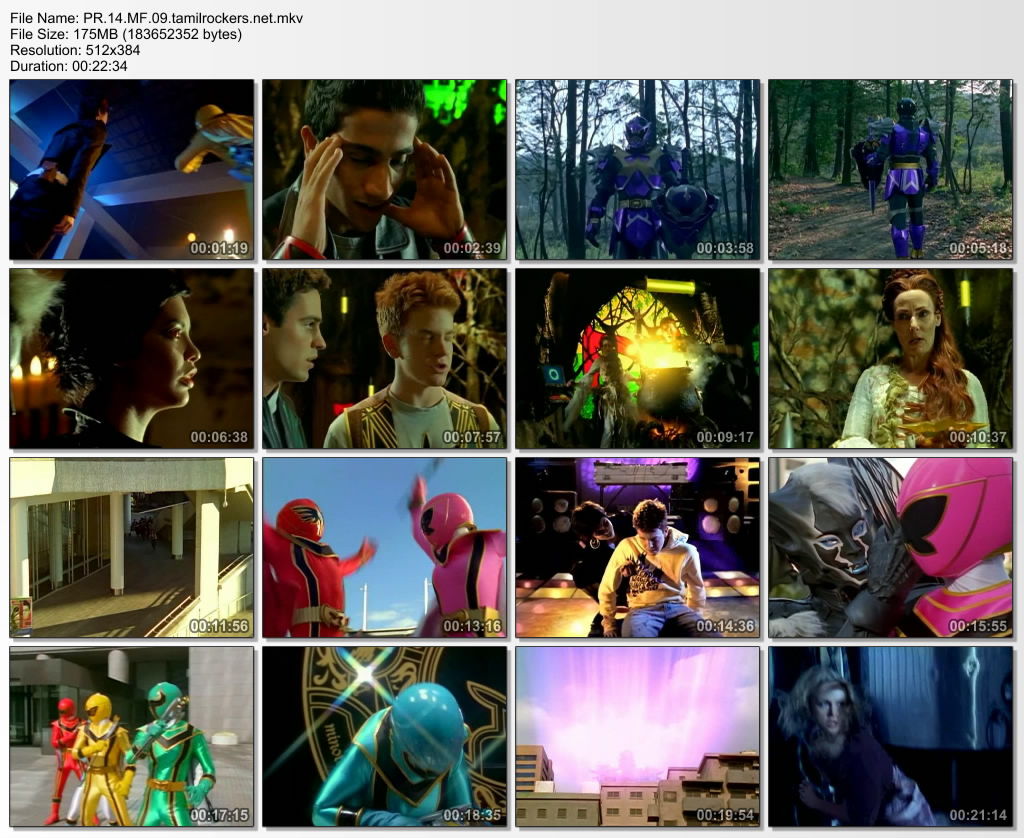 Power Rangers Mystic Force Episode - 9 DVD Rip - Tamil Kids